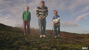 Мальчик в Британии нашел учебную бомбу времен войны