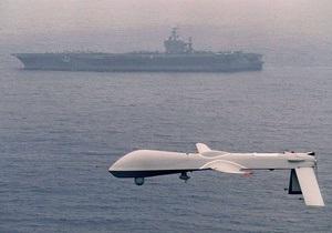 Военные США впервые задействовали беспилотник для обстрела войск Каддафи