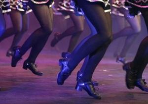 В Дублине две тысячи человек одновременно станцевали ирландский танец