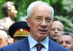 Киев - акции протеста 18 мая - Азаров пообещал не принуждать бюджетников к участие в антифашистском митинге