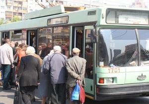 На время Евро-2012 в Киеве поменяются маршруты автобусов и троллейбусов