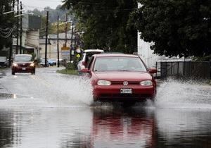 В штате Нью-Йорк из-за наводнений объявлен режим ЧС