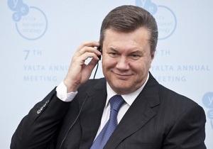 Янукович убежден, что у Украины есть все шансы стать лидером в Восточной Европе