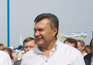Янукович: Для Украины сотрудничество со странами Азии является перспективным