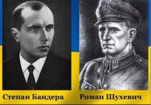 От Януковича требуют уволить судей, лишивших званий Героя Шухевича и Бандеру
