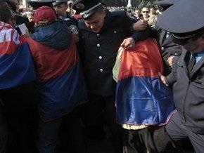 В Донецке милиция пресекла попытки сорвать концерт ко Дню УПА
