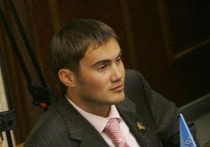 УП: Сын Януковича намерен отозвать свой голос за закон о языках