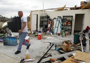 Жертвами сильного шторма в США стали десять человек