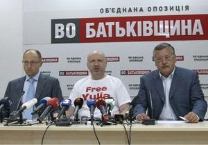 Оппозиция обжаловала в суде отказ ЦИК в регистрации Тимошенко и Луценко
