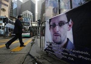 США потребовали от Гонконга экстрадиции Сноудена