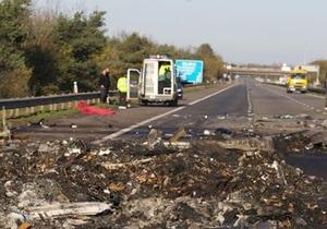 Полиция назвала причину крупного ДТП в Великобритании