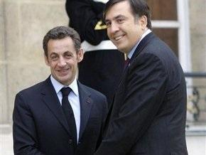 Саакашвили: Саркози поддержит интеграцию Грузии и Украины в ЕС