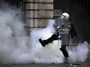 В Афинах неизвестные совершили нападение на полицейский участок