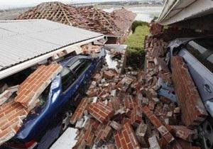 Серия землетрясений в Новой Зеландии: есть пострадавшие