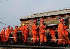В Китае спустя неделю после затопления шахты спасли 22 горняка