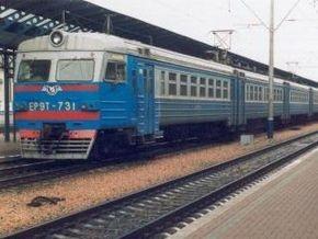 В воскресенье вводится новый график движения поездов за границу
