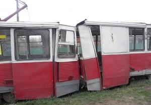 В Мариуполе столкнулись два трамвая: десять пострадавших