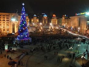 Елка на Майдане будет стоять до лета