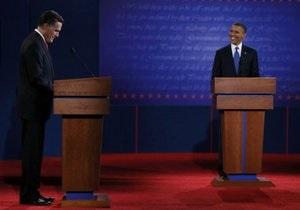 Опрос: после дебатов шансы Ромни на победу выросли