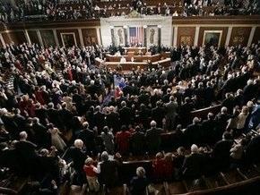 Конгресс США одобрил план стимулирования экономики в $825 млрд