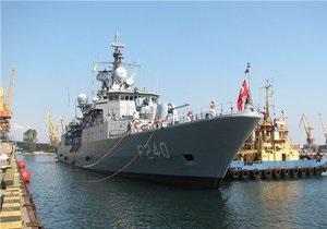 В Одессу прибыли корабли, участвующие в Си Бриз