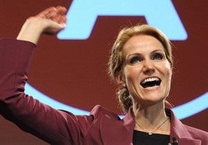 Премьером Дании впервые станет женщина