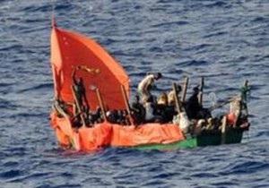 В Аденском заливе затонуло судно с 85 эфиопами и сомалийцами
