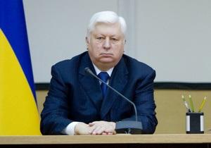 Пшонка сменил прокурора Донецкой области