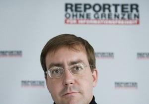 Репортеры без границ: Журналистов в Украине запугивают перед выборами