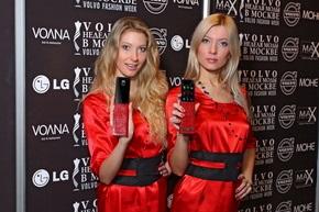 Модель LG new Chocolate BL40 – официальный мобильный телефон Volvo-Недели моды в Москве