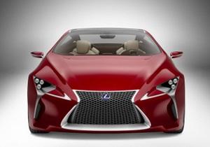 Lexus LF-LC. Гибридное купе с революционным дизайном поступит в серию