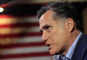 Белый дом раскритиковал заявления Ромни по внешней политике Обамы