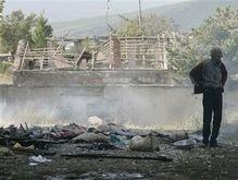 В Гори обстреляли микроавтобус: 13 человек погибли