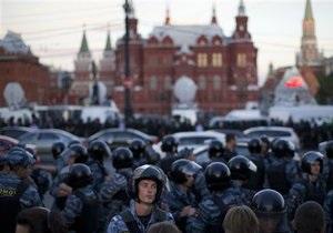 Полиция отпустила всех задержанных в Москве сторонников Навального