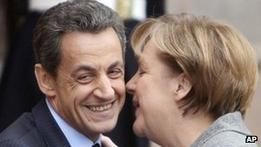 Меркель и Саркози надеются спасти европейскую валюту