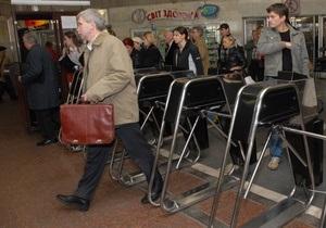 Киевский метрополитен намерен бороться со стихийной торговлей в подземке