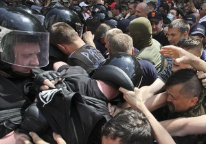 Эхо событий 18 мая в Киеве: уволен один из руководителей столичной милиции
