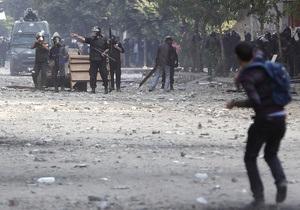 Беспорядки в Египте. Полиция применила водометы