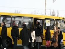 Завтра на дорогах Киева маршруток не будет