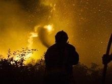 Под Петербургом горит полигон по утилизации химотходов (обновлено)