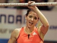 Исинбаева установила очередной мировой рекорд