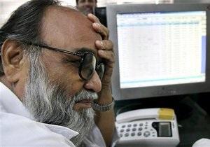 Украинские фондовые индексы начали снижение вслед за мировыми