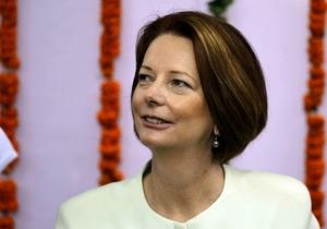 Неизвестный бросил сэндвич в премьер-министра Австралии