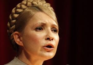 Тимошенко назвала абсурдными обвинения в причастности к убийству Щербаня