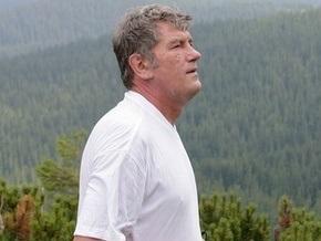 У подножья Говерлы Ющенко официально объявил об участии в президентской гонке
