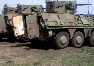 Министр обороны побывал с необъявленным визитом в Харьковской области