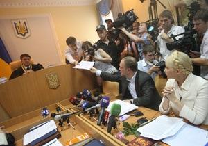 Печерский суд возобновил предварительные слушания дела Тимошенко