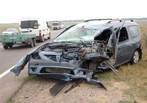 В Одесской области произошло ДТП: водитель Dacia уснул за рулем
