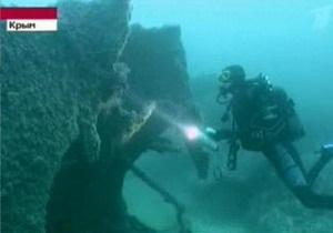 У берегов Крыма нашли знаменитый британский корабль с золотом