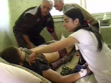 В Тбилиси выстроились очереди у банков крови